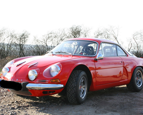 Renault Alpine A110 rot